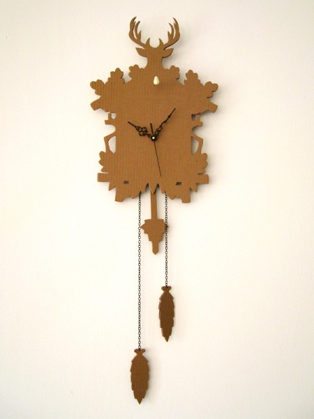 cardboard cuckoo clock 1