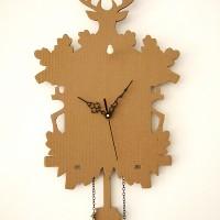 cardboard cuckoo clock 2