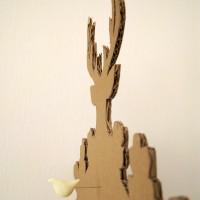 cardboard cuckoo clock 4